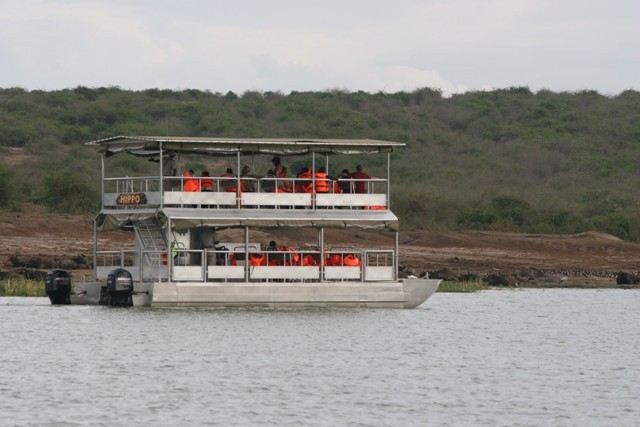 The Launch Cruise along the Kazinga Channel