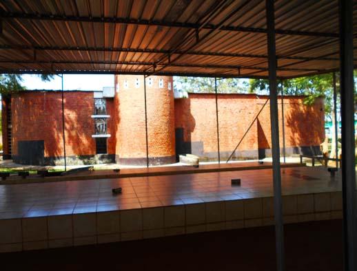 Memorial genocide site - Nyamata