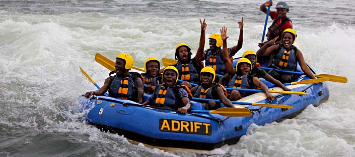 1 Day white water rafting adventure on the Nile