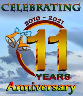 Celebrating 11 years aniversary