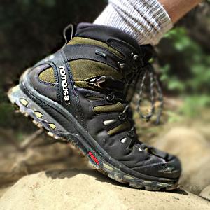 Hiking shoes - gorilla trekking in Uganda