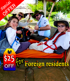 $25 off for foreign residents - African Adventure Travellers