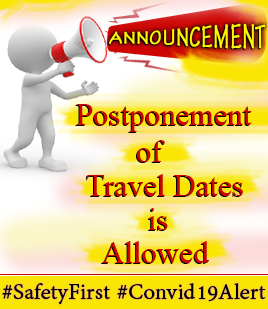 Postponement of Travel Dates is Allowed - African Adventure Travellers