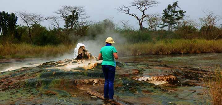 Sempaya H Springs in Semuliki National Park