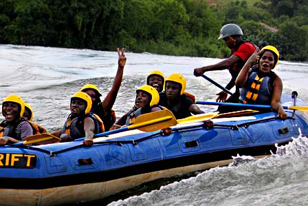 1 day white water rafting adventure
